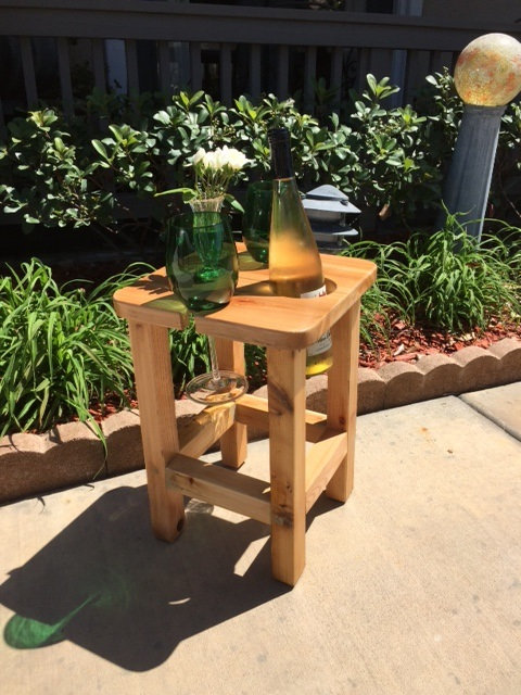 Wine Stool Size Table