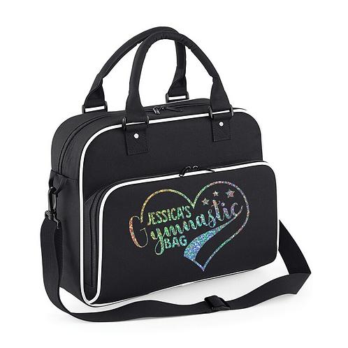 Heart Gymnastic Bag Glitter