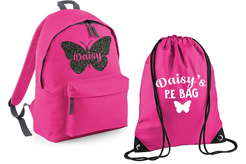 Butterfly Bag and PE Set