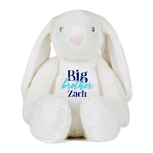 Personalised Big Brother Teddy - Rabbit