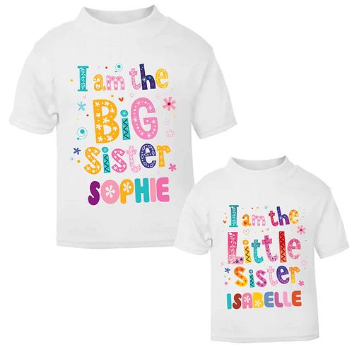 I'm the Big / Little Sister T-shirts