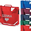 Thumbnail: Personalised Heart Strap Bookbag