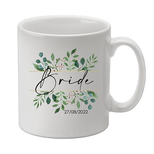 Personalised Bride Mug