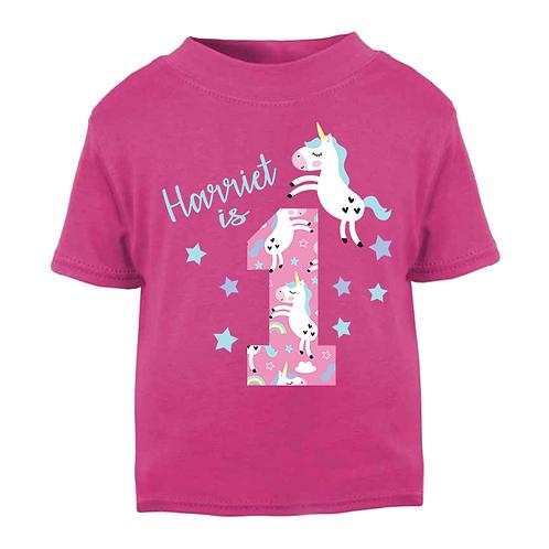 Unicorn Style Birthday T-shirt