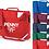 Thumbnail: Personalised Bow Bag Strap Bookbag