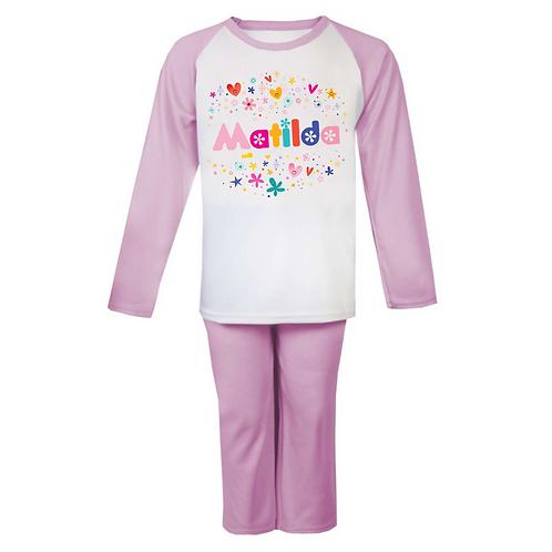 Cute Name Personalised Pyjamas
