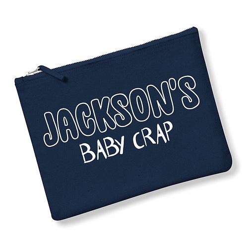 Baby Crap Pouch