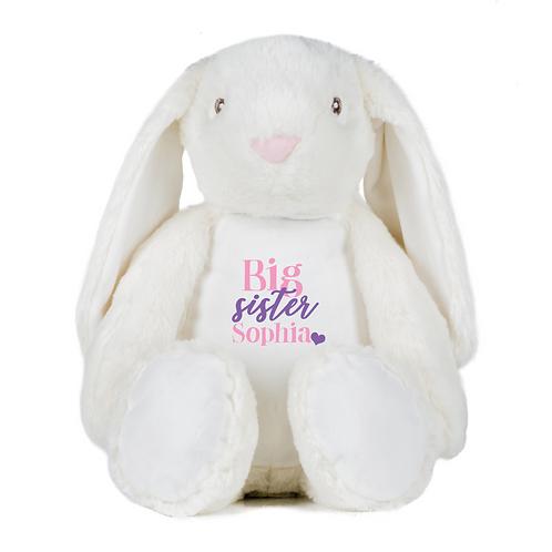 Personalised Big Sister Teddy - Rabbit