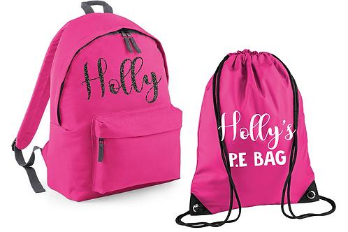 Name Bag and PE Set