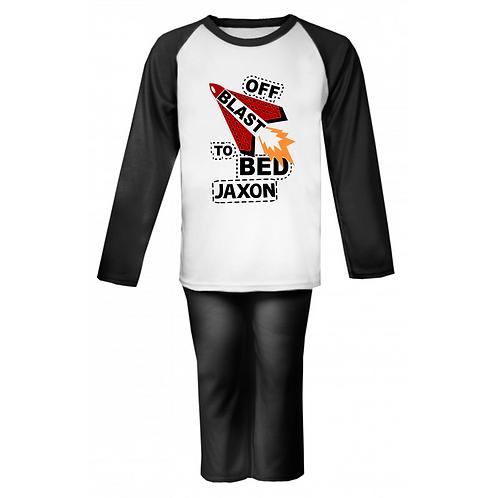 Blast off to Bed! Personalised Pyjamas