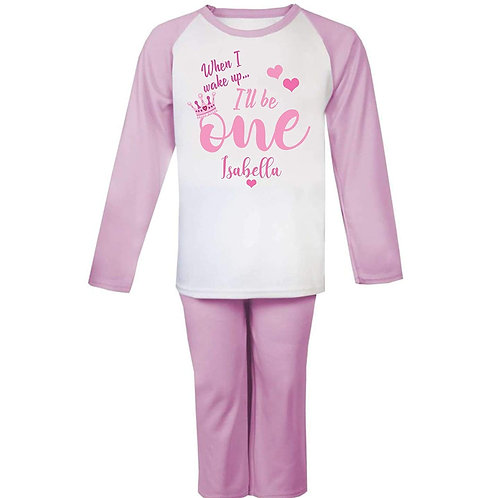 Personalised When i Wake Up Birthday Pyjamas