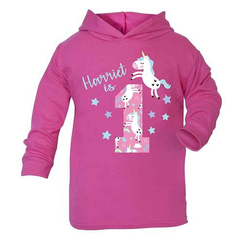 Name is 1 Unicorn Hoodie