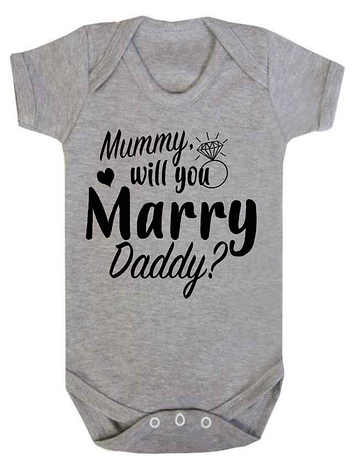 Will you Marry Daddy?
