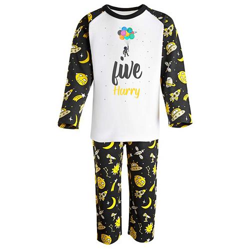 Personalised Birthday Pyjamas -Space