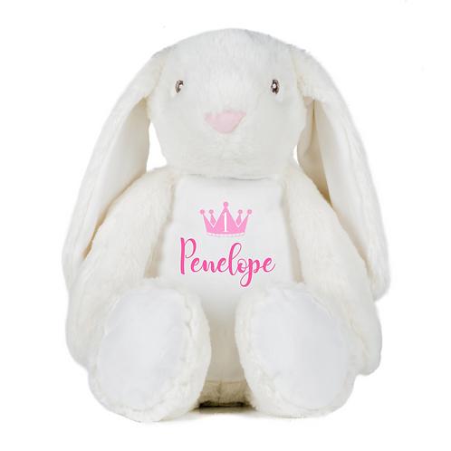 Personalised Birthday Crown Teddy -Bunny