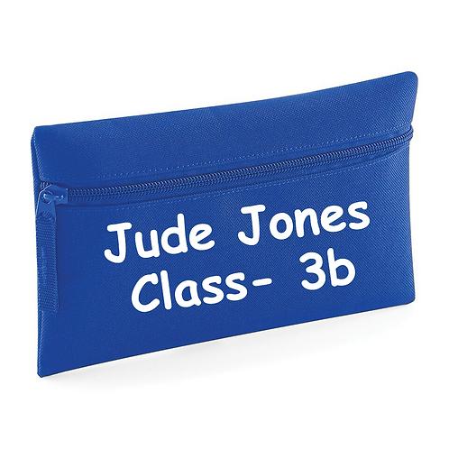 Name and Class Pencil Case