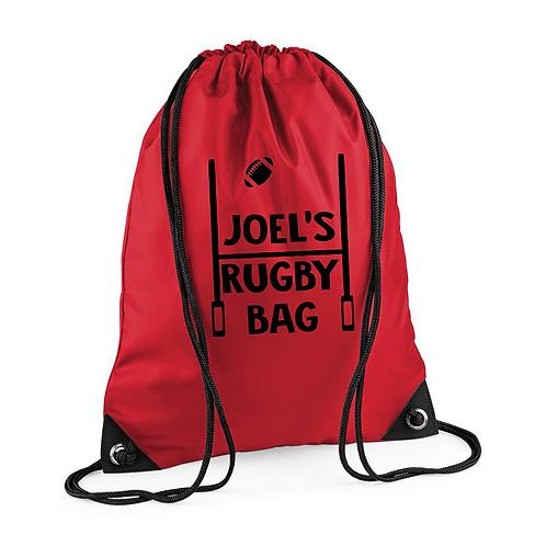 Rugby Bag Drawstring
