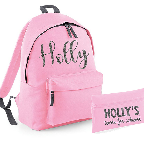 Name Bag and Pencil Case