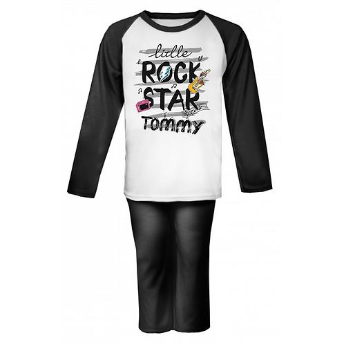 Little Rock Star Personalised Pyjamas