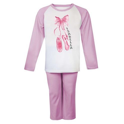 Ballet Shoes Personalised Pyjamas