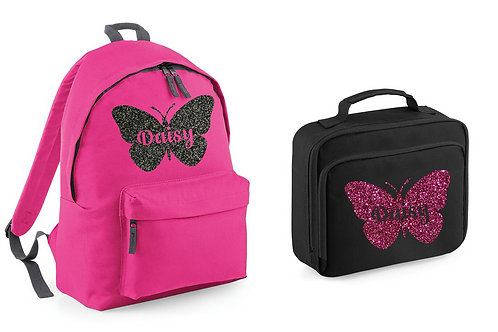 Butterfly Bag and Lunch Set
