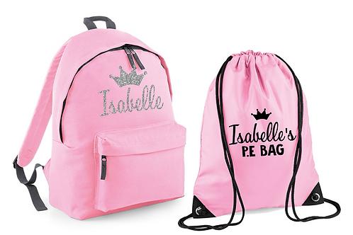 Crown Bag and PE Set