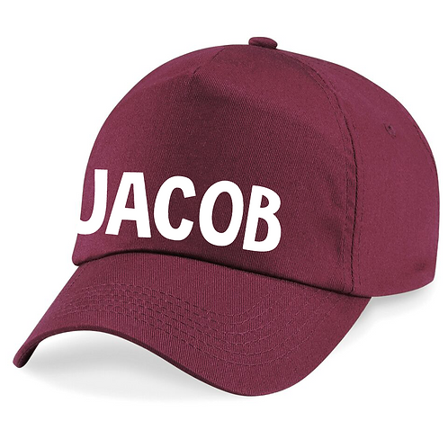Name Across Junior Cap