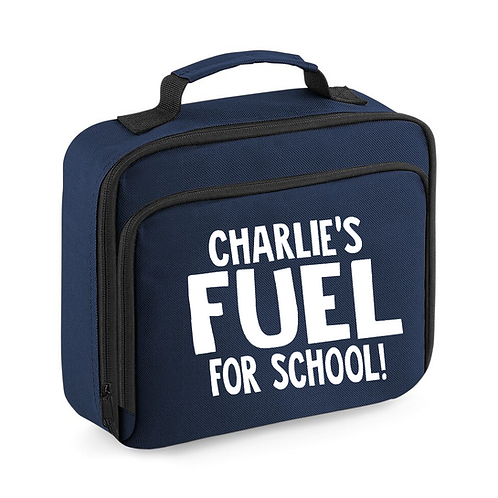 Fuel for School Lunch Bag