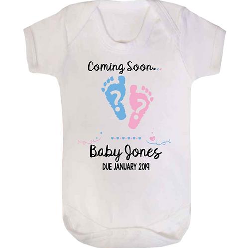 Coming Soon Girl or Boy