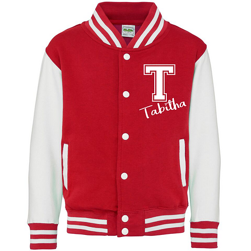 Collage Initial and Name Varsity