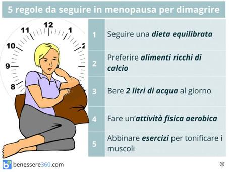 Alimentazione in Menopausa: cosa mangiare?