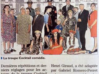 Cocktail Comédie dans la presse !