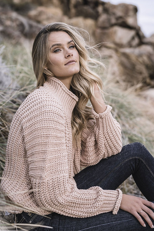 HUMIDITY LIFESTYLE Chunky Knit P/Over