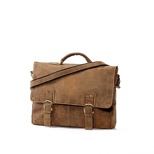 JLP ESSAR Leather Satchel