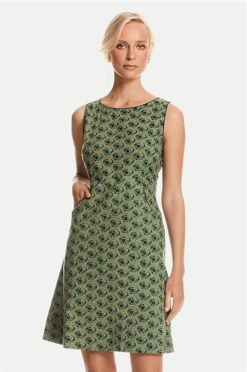 MAHA SHE Clover Jade Print Dress