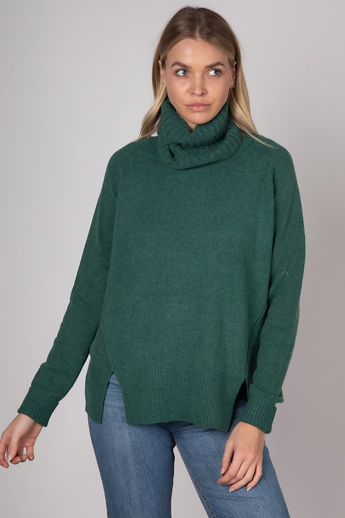Zaket  & Plover Relaxed Knit & Snood Pine ZP3126