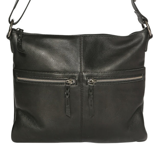 Ladies Leather Shoulder/Crossbody Bag 5906