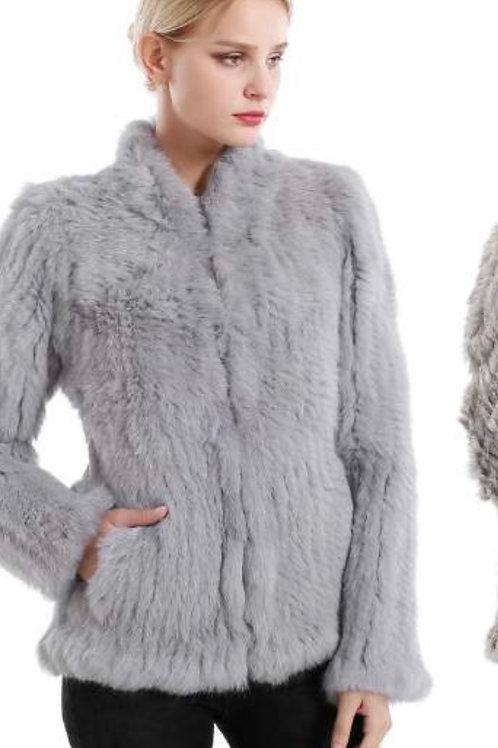 Rabbit Fur Jacket JK41