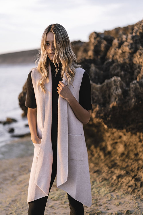 HUMIDITY LIFESTYLE Relaxed Vest