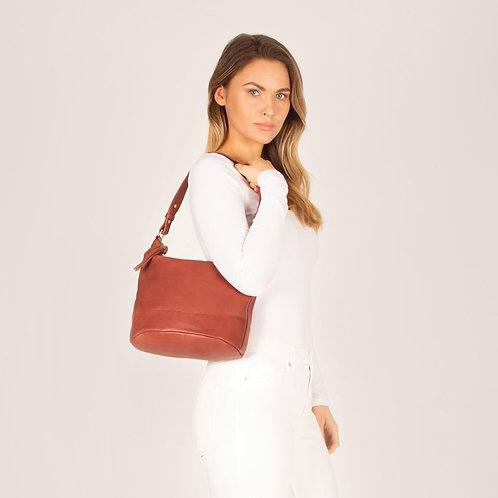 Paige Medium Soft Leather Crossbody