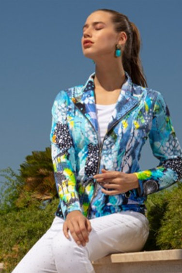 DOLCEZZA The Love of Blue Happiness Jacket 20628