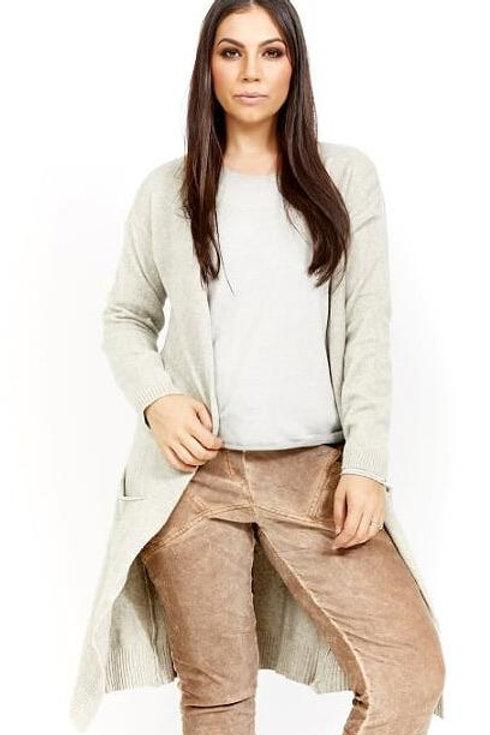 AMICI Longline Plush Cardigan