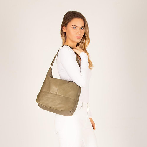 Paige Large Soft Leather Hobo