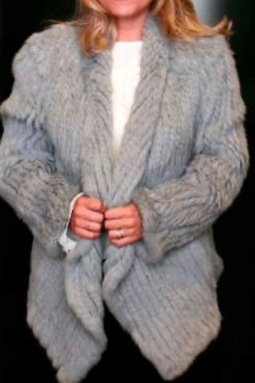HEAVENLY CRAFT Rabbit Fur Jacket JK28