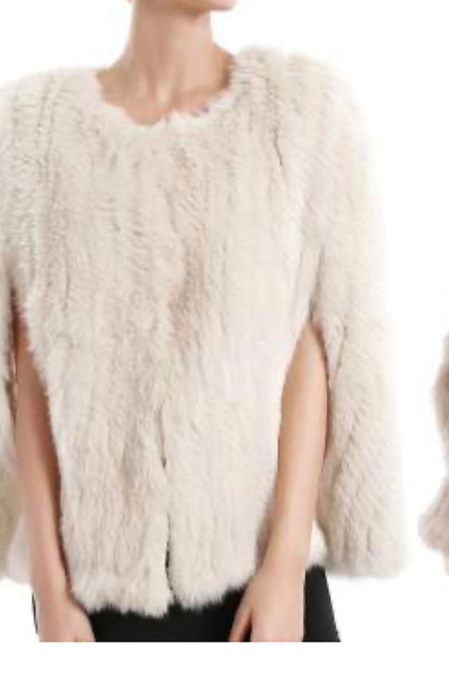 HEAVENLY CRAFT Rabbit Fur vest