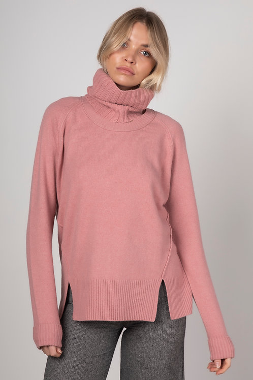 Zaket  & Plover Relaxed Knit & Snood Blush ZP3126