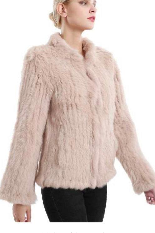 HEAVENLY CRAFT Rabbit Fur Jacket JK41