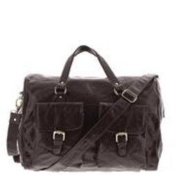 Soho Leather Overnight Duffle Bag
