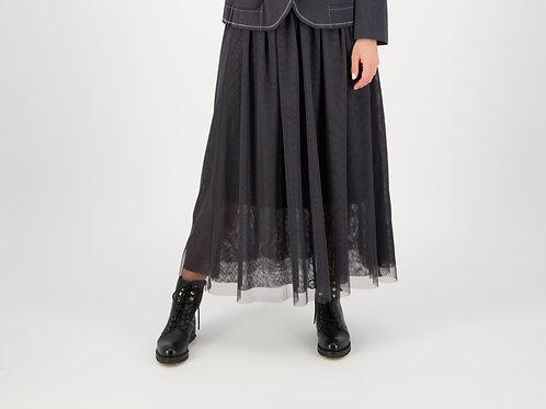 FOIL Tulle Be Right Skirt  Black 6440