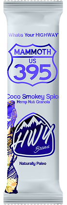 Mammoth 395 - Smoky Coco Spike - 20 CBD (8x bars per box)